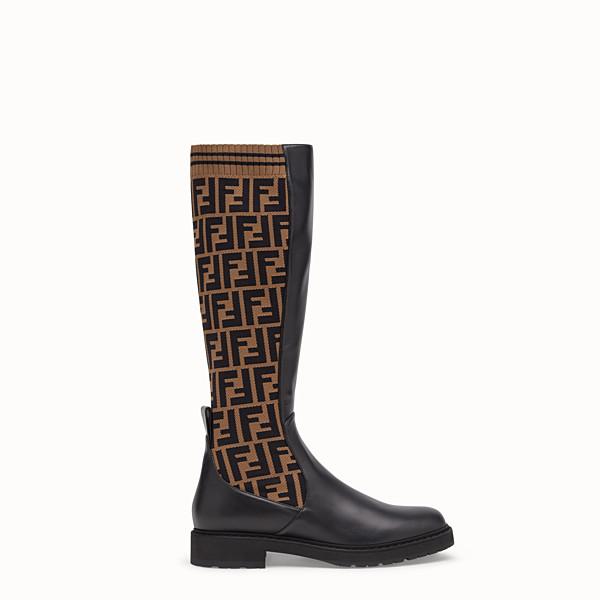 8c7bd39f6a29 Stivali in Pelle o Tessuto da Donna | Fendi