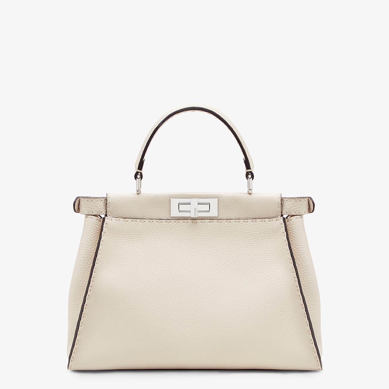 FENDI PEEKABOO ICONIC MEDIUM - White leather bag - view 3 detail