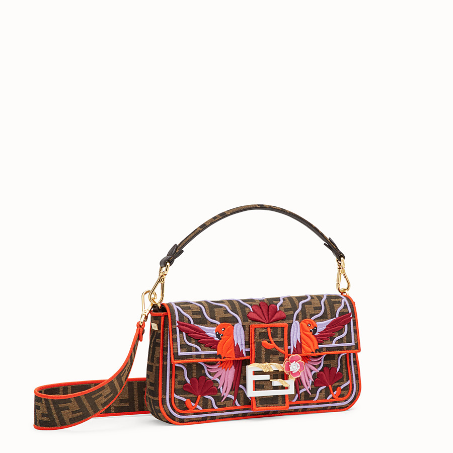FENDI BAGUETTE - Multicolour fabric bag - view 2 detail