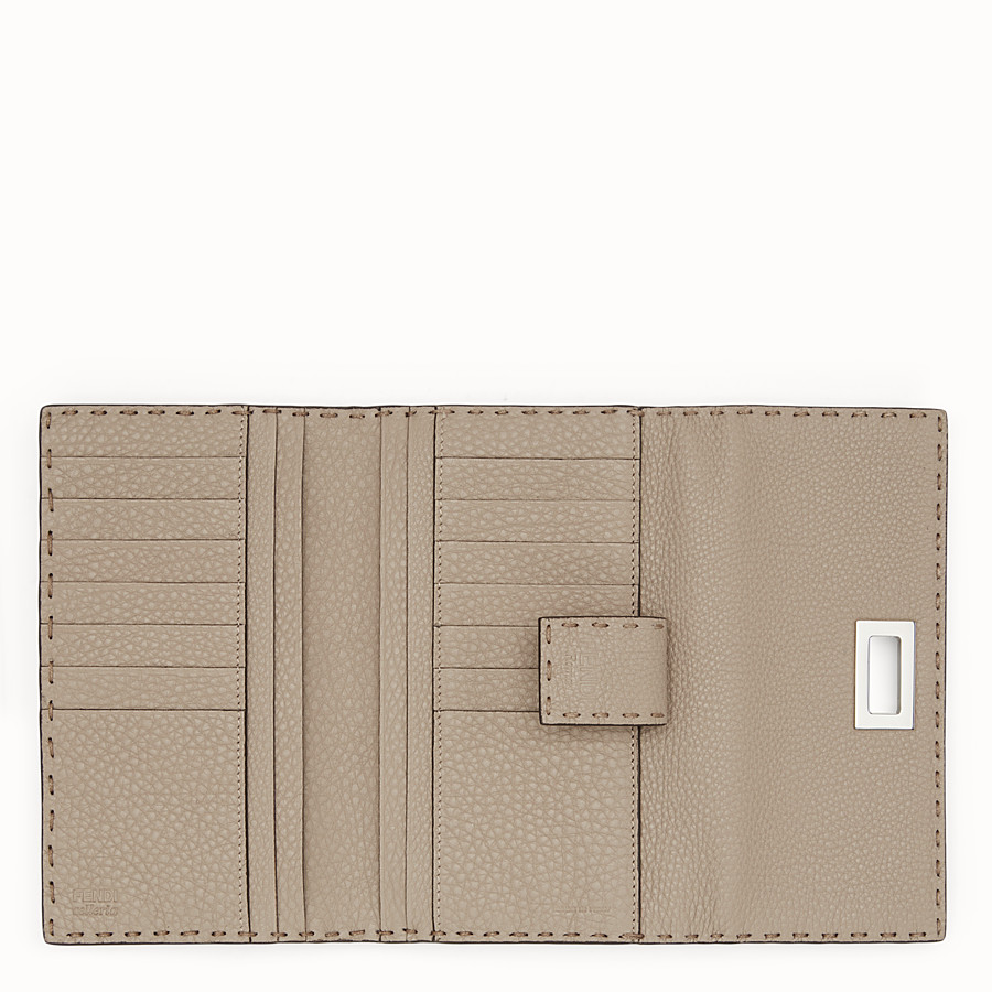 FENDI CONTINENTAL - Selleria cord-coloured continental wallet - view 5 detail