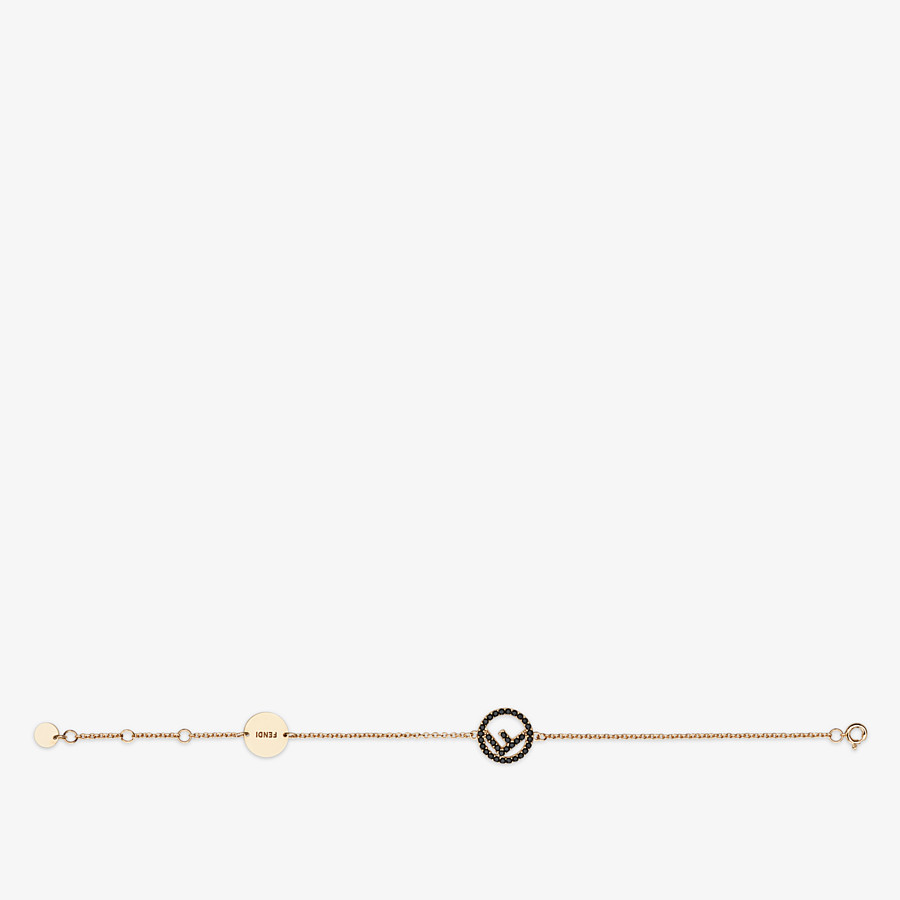 FENDI F IS FENDI BRACELET - Gold-colour bracelet - view 1 detail