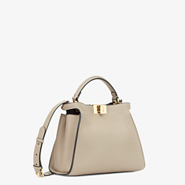 FENDI PEEKABOO ICONIC ESSENTIALLY - Beige leather bag - view 2 thumbnail