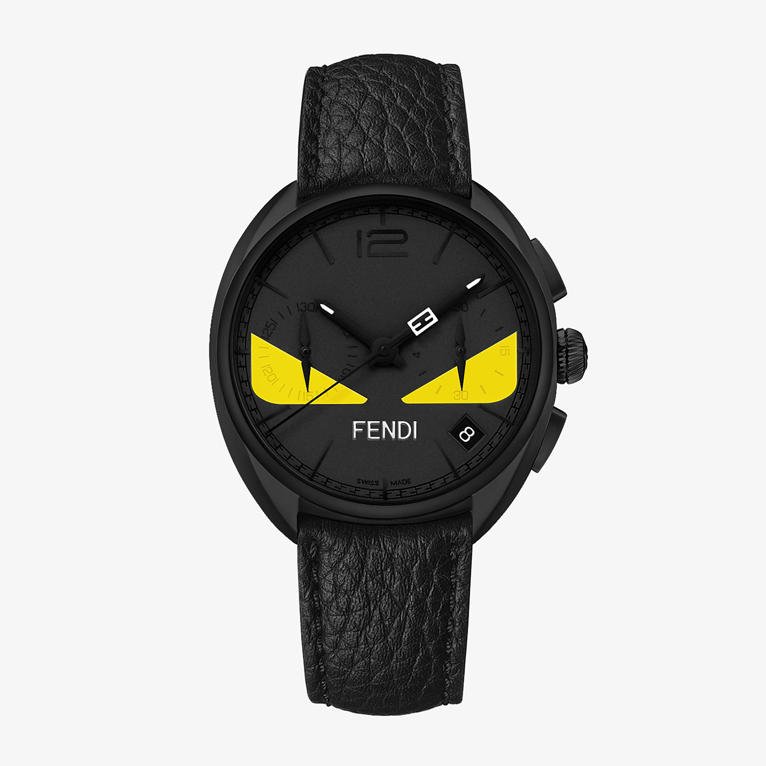 FENDI MOMENTO FENDI BUGS - 40 mm - Chronograph watch with strap - view 1 detail