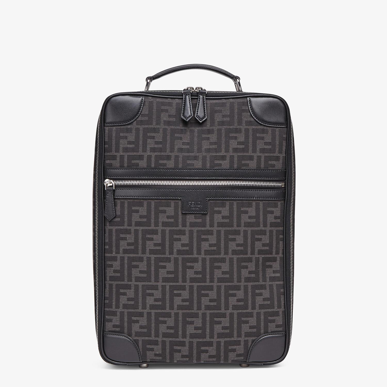 FENDI TRAVEL BACKPACK - FF jacquard fabric backpack - view 1 detail