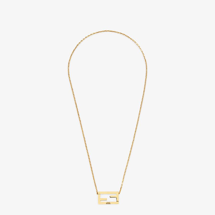 FENDI NECKLACE - Gold-color necklace - view 1 detail
