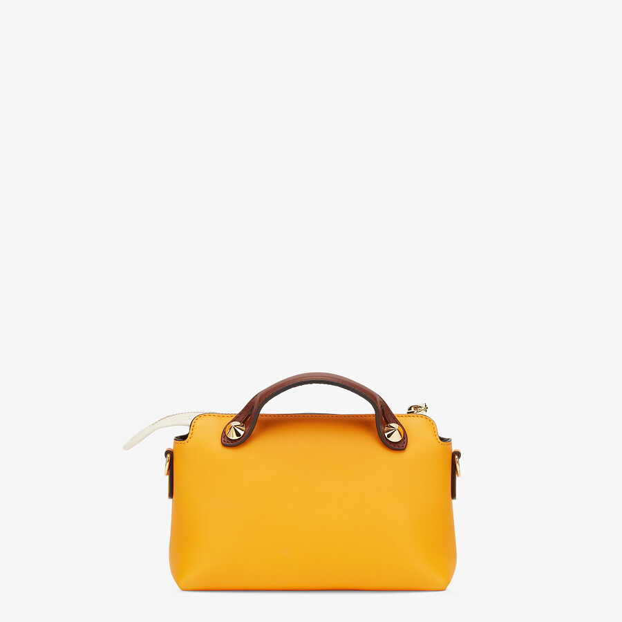 FENDI BY THE WAY MINI - Small multicolour leather Boston bag - view 3 detail