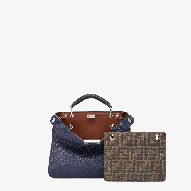 FENDI PEEKABOO ISEEU MINI - Dark blue leather bag - view 2 detail