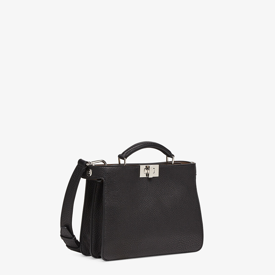 FENDI PEEKABOO ISEEU MINI - Black leather bag - view 3 detail