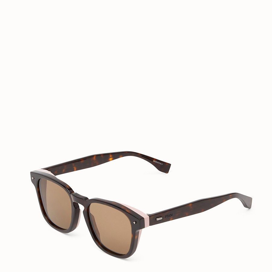 FENDI I SEE YOU - Lunettes de soleil havane - view 2 detail