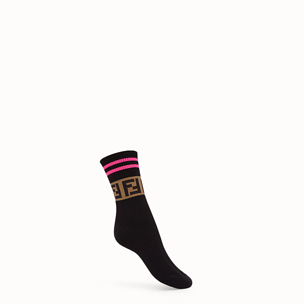 FENDI SOCKS - Fendi Roma Amor cotton socks - view 1 small thumbnail