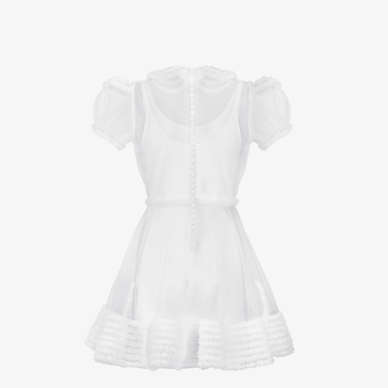 FENDI DRESS - White tulle dress - view 2 detail