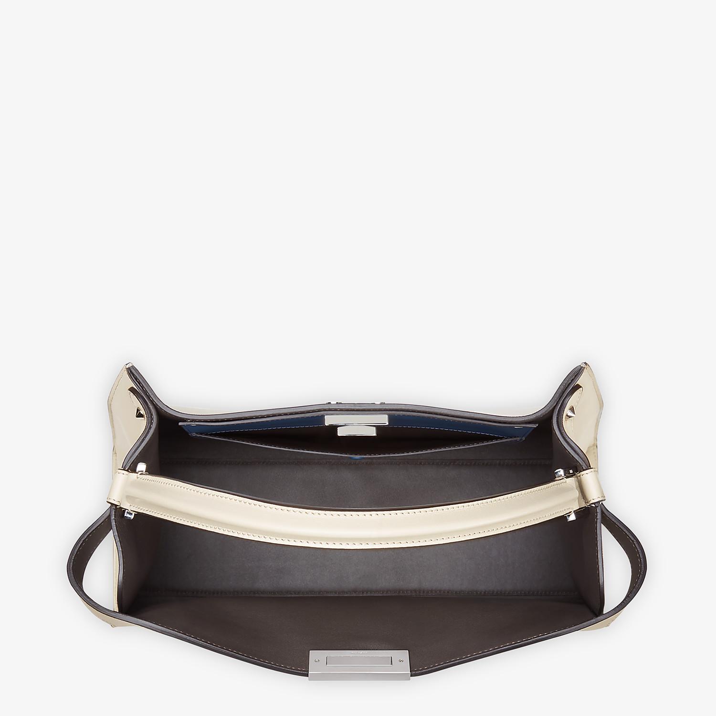 FENDI PEEKABOO X-LITE LARGE - White leather bag - view 5 detail
