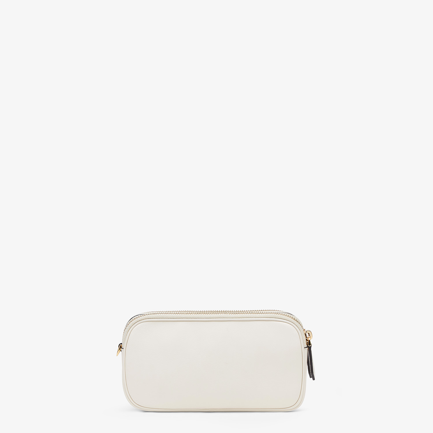 FENDI EASY 2 BAGUETTE - White leather mini bag - view 4 detail