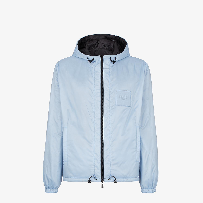 FENDI WINDBREAKER - Light blue nylon jacket - view 4 detail