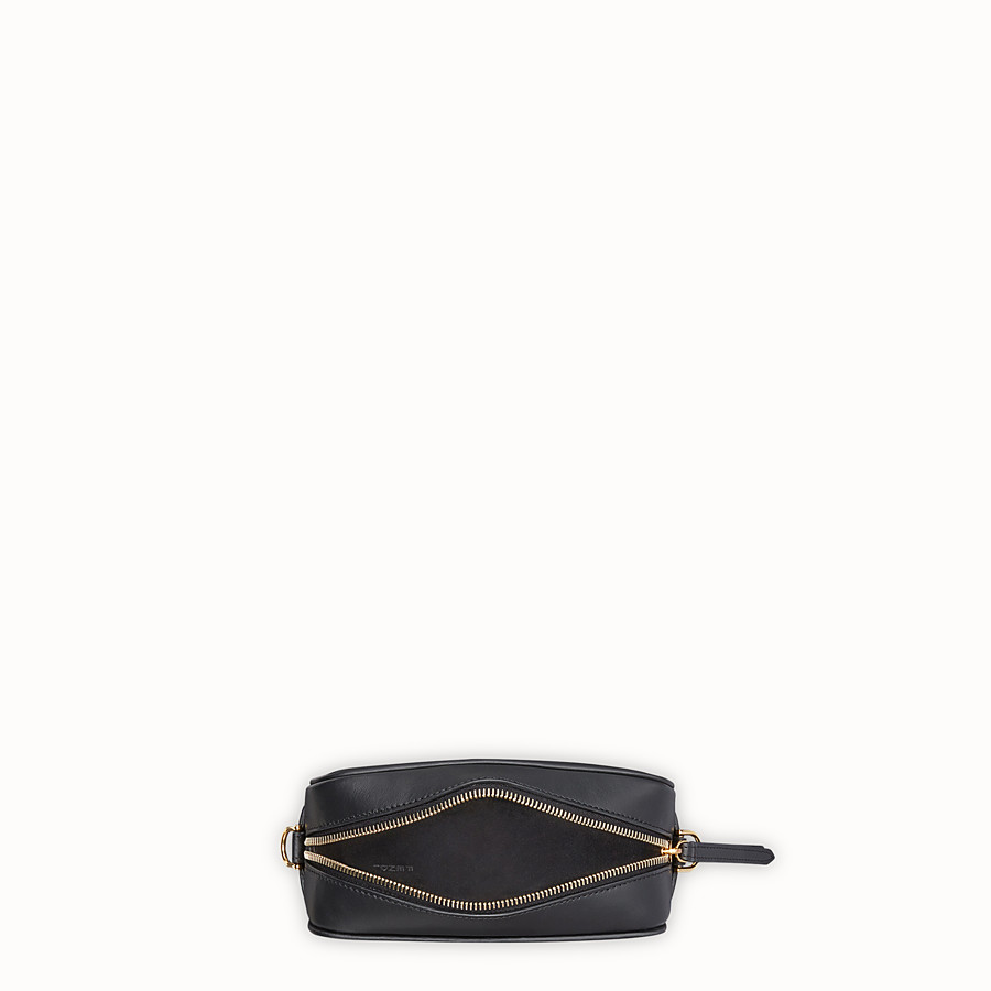 FENDI MINI CAMERA CASE - Black leather bag - view 4 detail