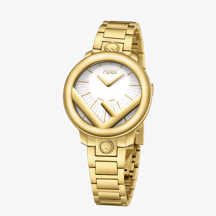 FENDI RUN AWAY - 28 mm (1.1 inch) - Watch with F is Fendi logo - view 2 detail