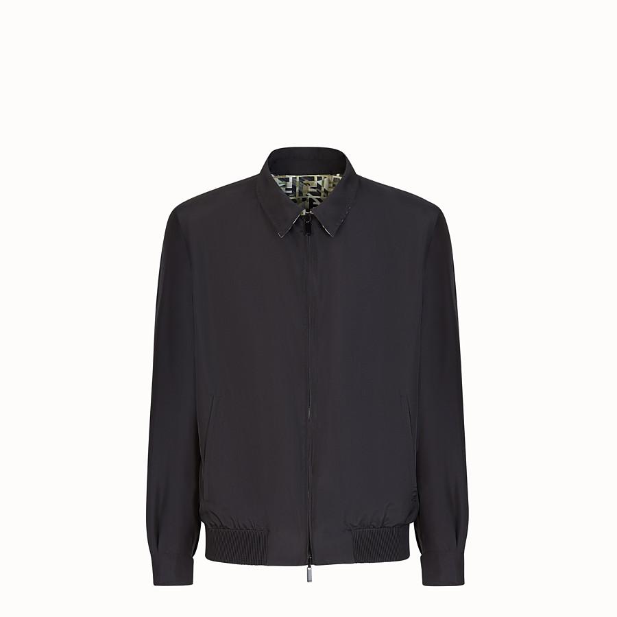 FENDI BLOUSON JACKET - Multicolour silk jacket - view 4 detail
