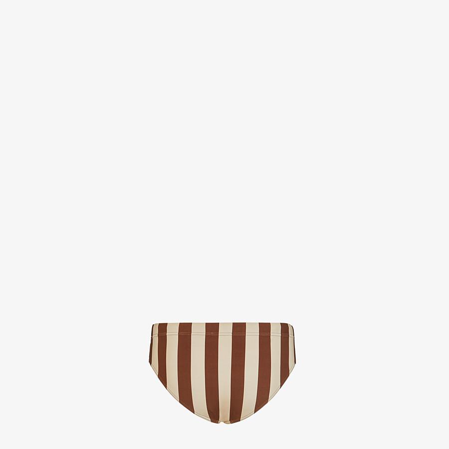 FENDI SWIM BRIEFS - Multicolor Lycra® swimsuit - view 2 detail