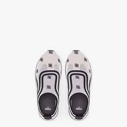 FENDI SNEAKERS - Sneakers en filet blanc - view 4 thumbnail