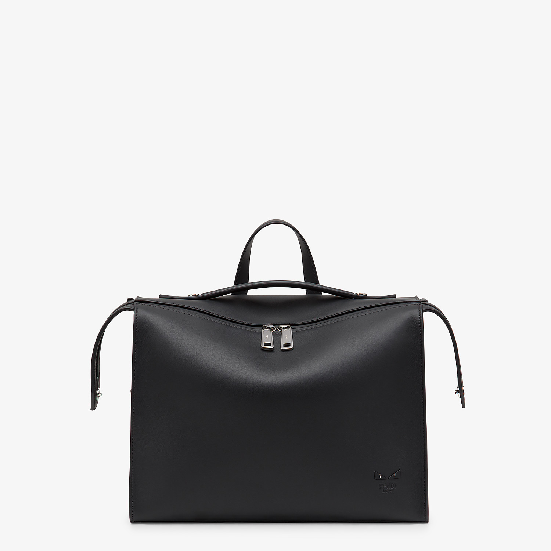 FENDI LUI BAG - Black leather bag - view 1 detail