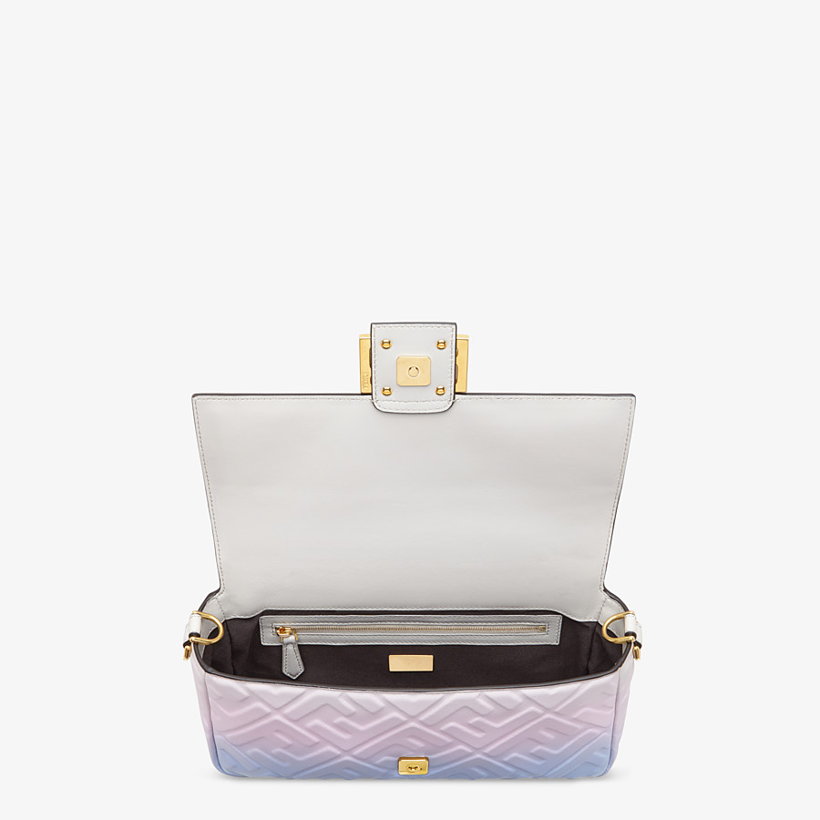 FENDI BAGUETTE - Graduated colour nappa leather bag - view 5 detail
