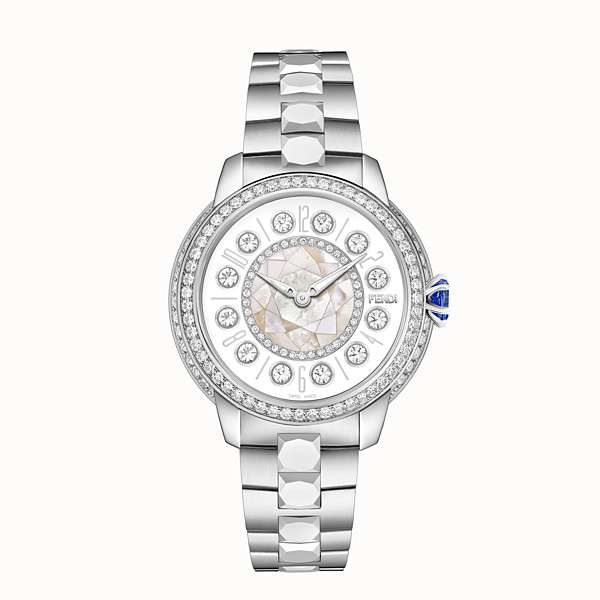 FENDI FENDI ISHINE - 33 MM - Watch with diamonds and rotating precious stones - view 1 small thumbnail