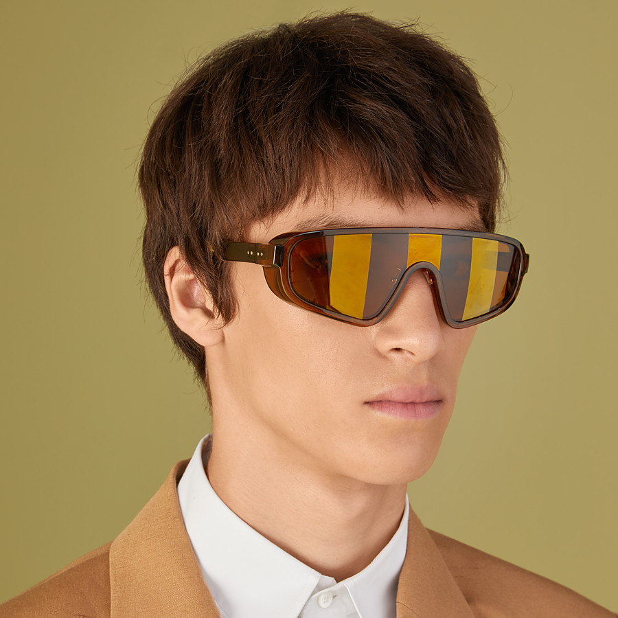 FENDI BOTANICAL FENDI - Brown sunglasses - view 4 detail