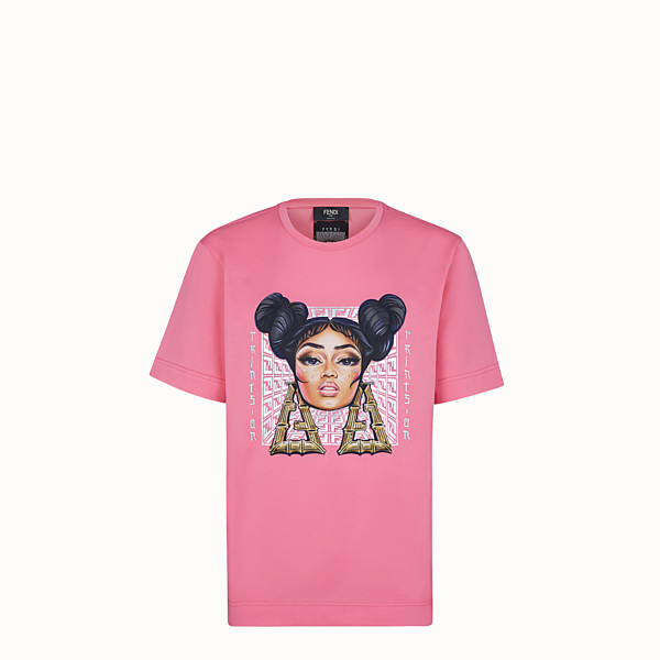 FENDI T-SHIRT - Fendi Prints On jersey T-shirt - view 1 small thumbnail