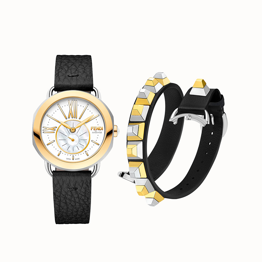 FENDI SELLERIA SET - 36 mm - Selleria with 2 interchangeable straps - view 2 detail