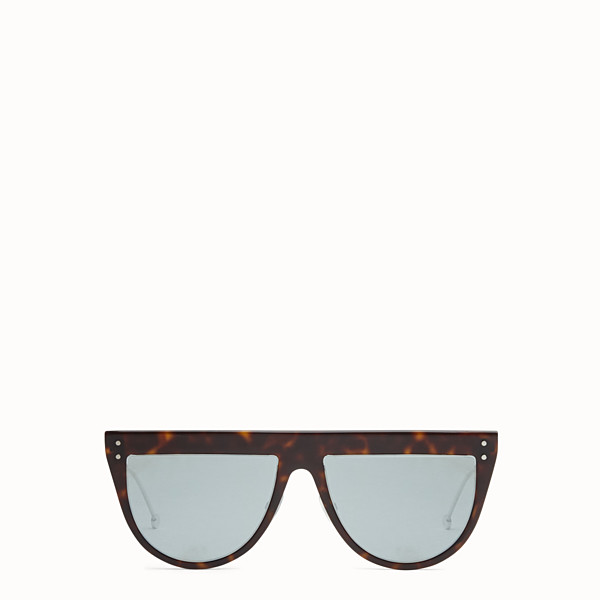 FENDI DEFENDER - Havana sunglasses - view 1 small thumbnail