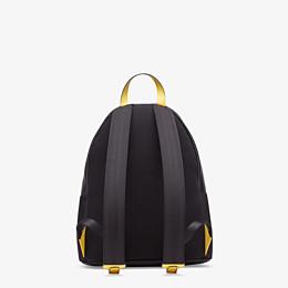 FENDI BACKPACK - Black nylon backpack - view 3 thumbnail