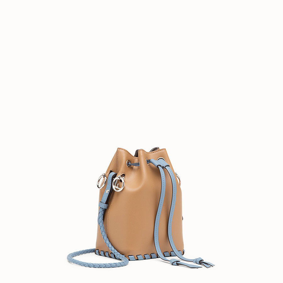 FENDI MON TRESOR - Brown leather mini-bag - view 2 detail