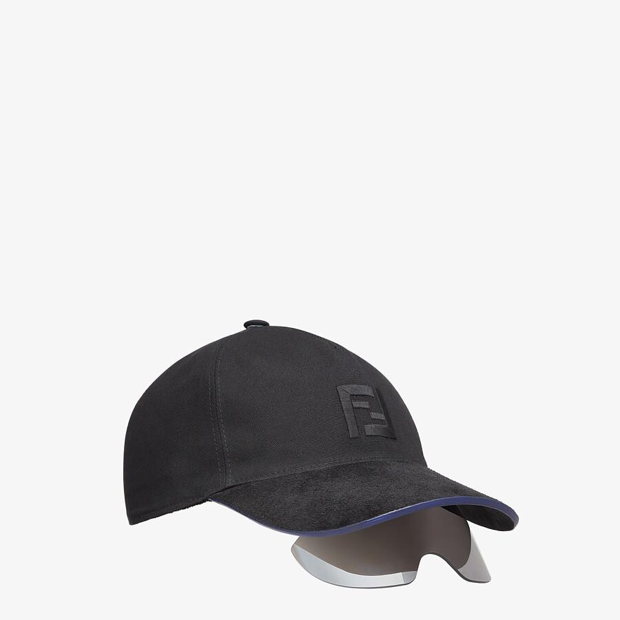 FENDI FS FENDI EYECAP - Fashion show baseball cap with sunglasses - view 2 detail
