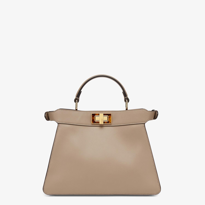 FENDI PEEKABOO ISEEU SMALL - Dove gray leather bag - view 4 detail