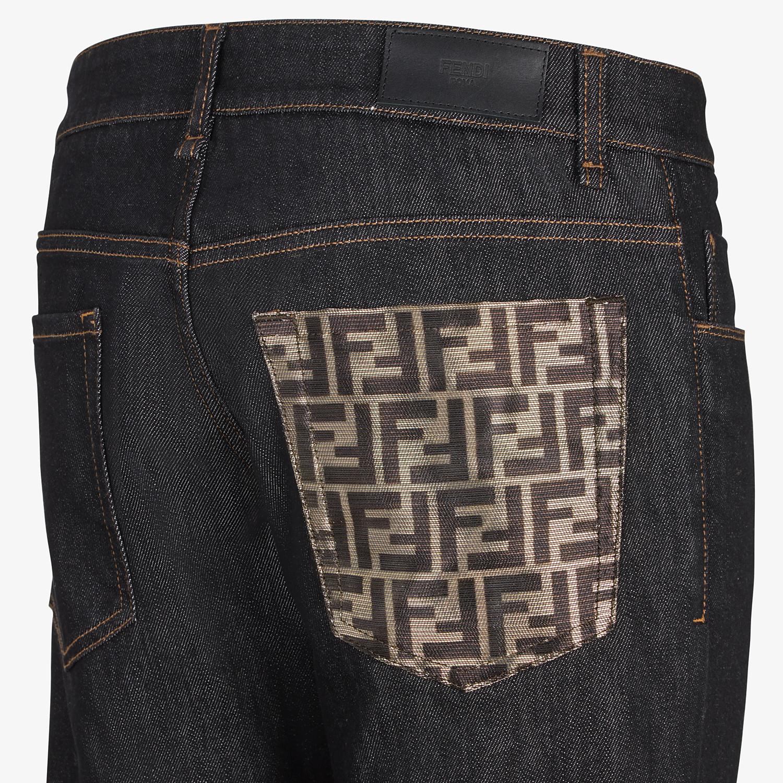 FENDI DENIM - Jeans in denim nero - vista 3 dettaglio