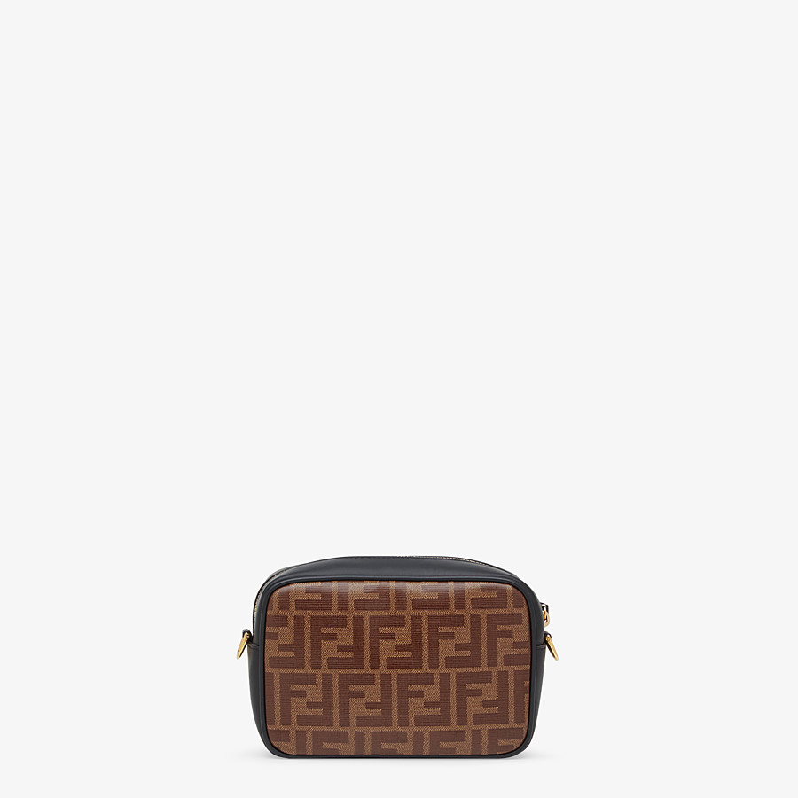 FENDI MINI CAMERA CASE - Multicolor canvas bag - view 3 detail