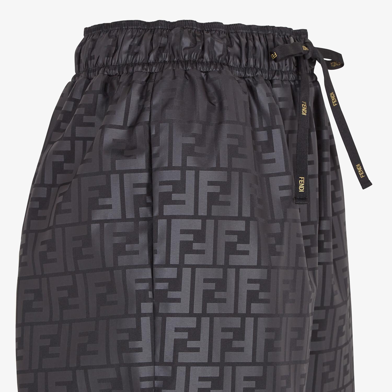 FENDI PANTS - Black sports pants - view 3 detail