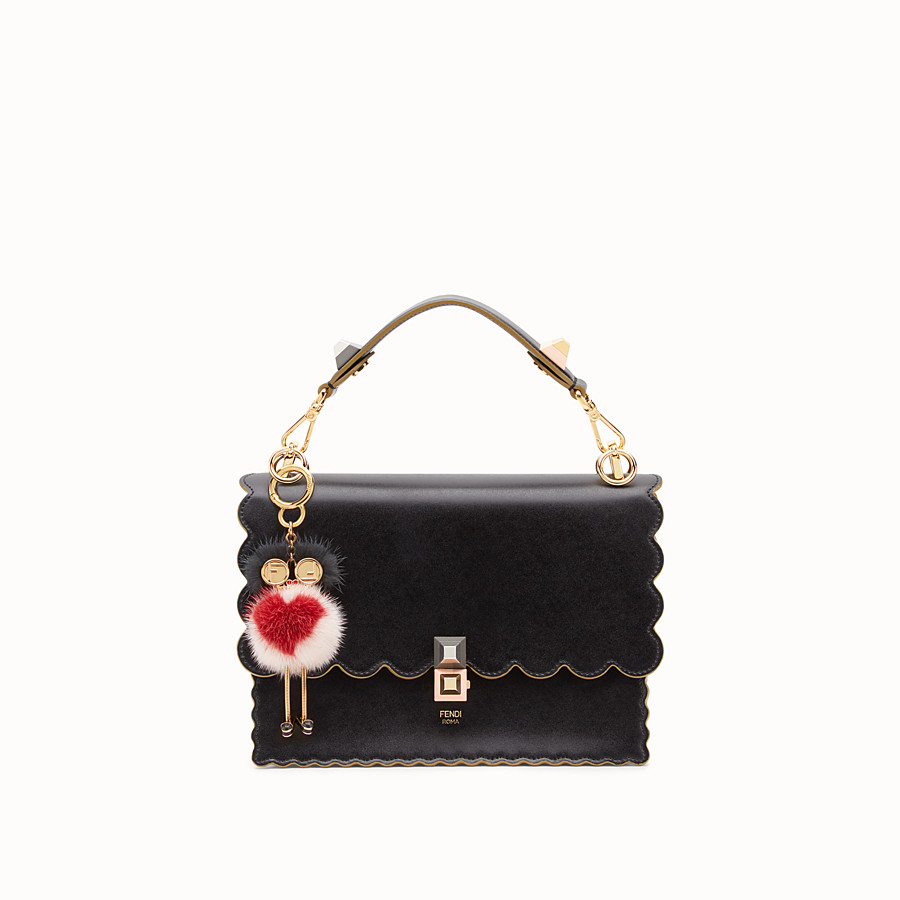 FENDI CHICK BAG CHARM - Multicolour mink charm - view 3 detail