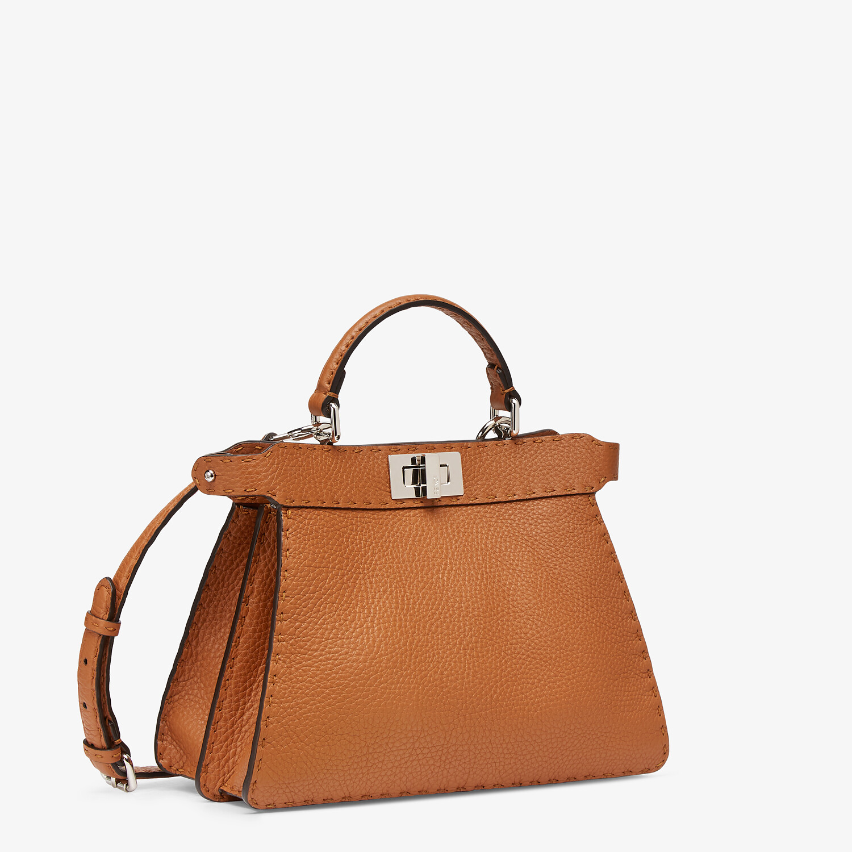 FENDI PEEKABOO I SEEU SMALL - Brown Selleria bag - view 2 detail
