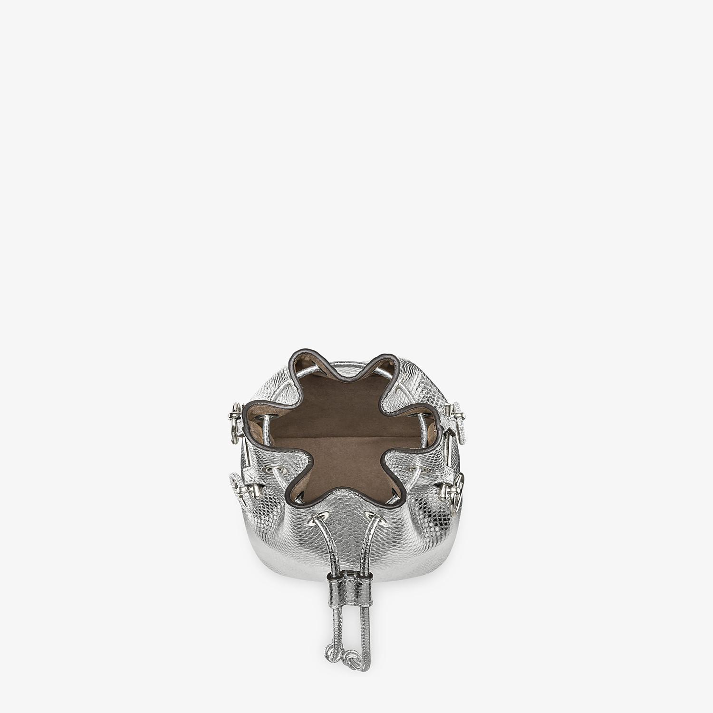 FENDI MON TRESOR - Silver karung mini bag - view 4 detail