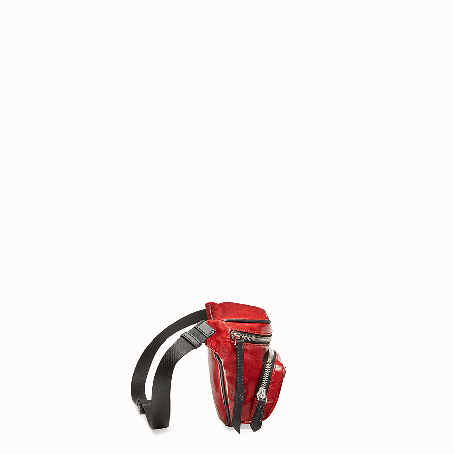 FENDI BELT BAG - Red fabric belt bag - view 2 detail