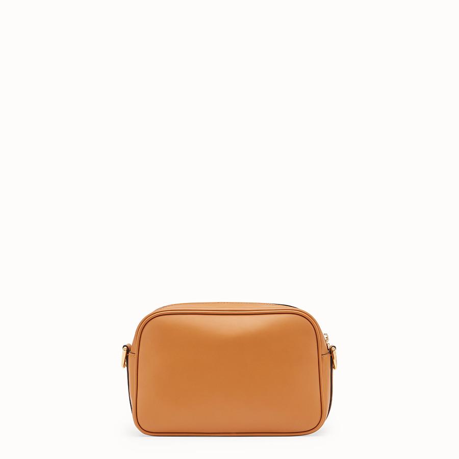 FENDI CAMERA CASE - Brown leather bag - view 3 detail