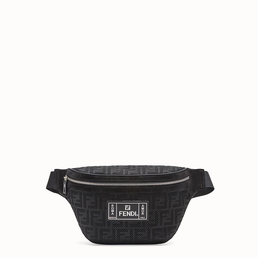 1eab827bcf0e Black tech fabric belt bag - BELT BAG | Fendi
