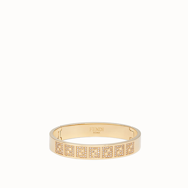 FENDI FF BRACELET - Gold-colour bracelet - view 1 small thumbnail