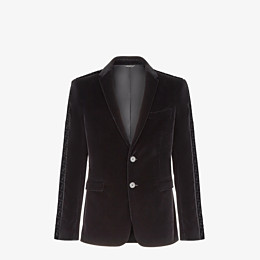 FENDI JACKET - Fendi blazer for Jackson Wang in velvet - view 1 thumbnail