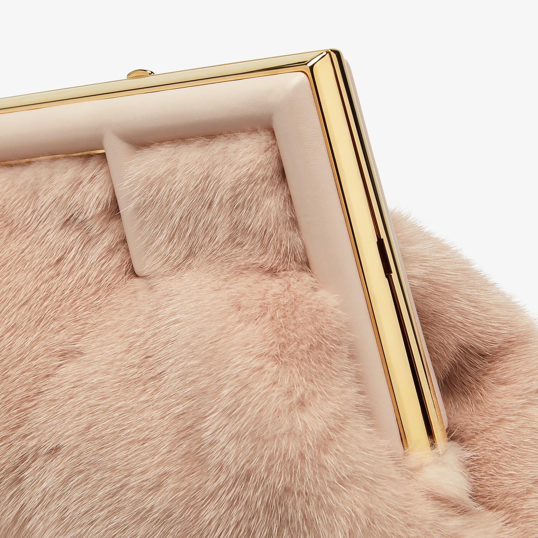 FENDI FENDI FIRST SMALL - Pink mink bag - view 5 detail