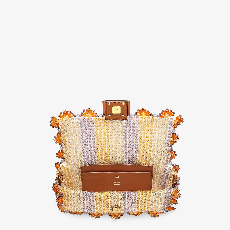 FENDI BAGUETTE - Bag with multicolour beads - view 5 detail