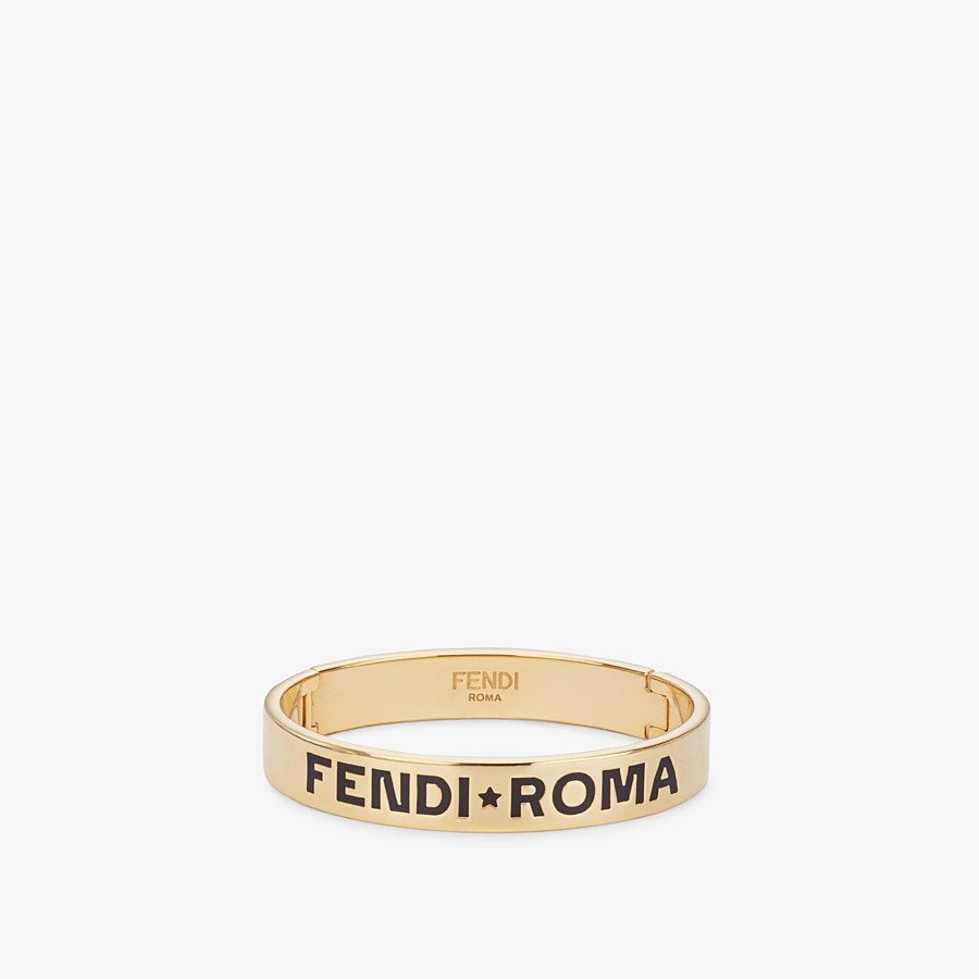 FENDI FF BRACELET - Gold-color bracelet - view 1 detail