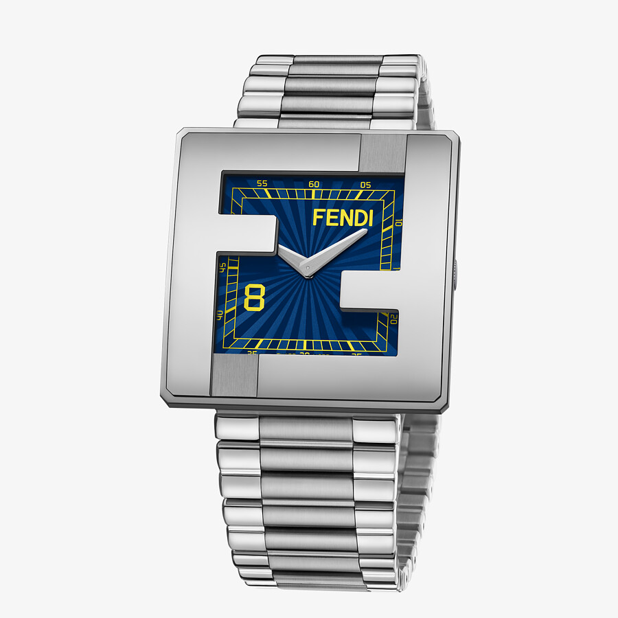 FENDI FENDIMANIA - 40 x 40 MM - Watch with FF logo bezel - view 2 detail