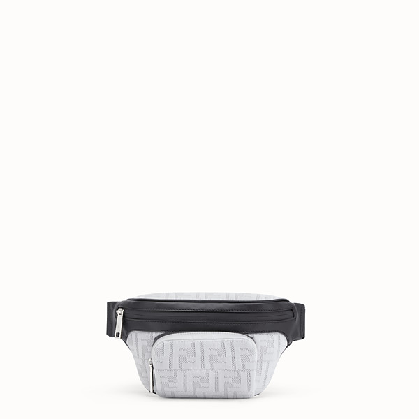 FENDI BELT BAG - White tech fabric belt bag - view 1 small thumbnail
